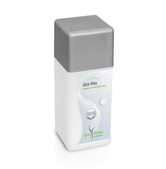 Alcaplus produit traitement d'eau pour spa et jacuzzi Spatime Bayrol