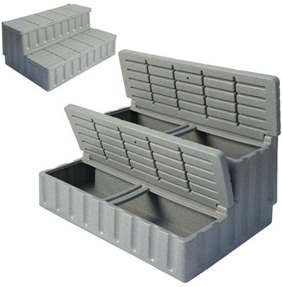 DURASPORTS SPAS escalier grey