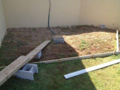 Comment réaliser facilement une dalle béton pour un spa CATALINA à Ollioules 83